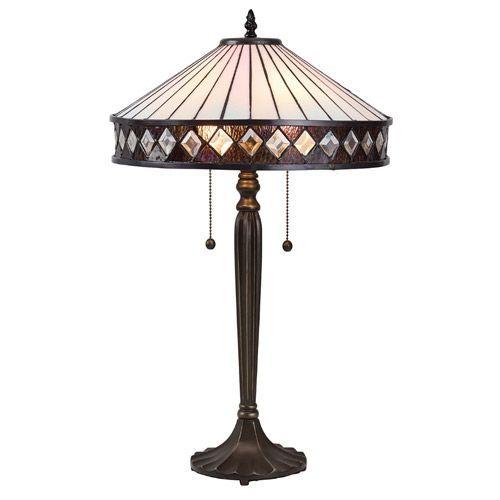 Interiors 1900 Tiffany Fargo Medium Table Lamp 70935