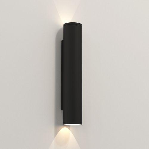 Astro Ava 400 Outdoor Wall Light in Textured Black 1428013