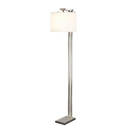 Elstead Belmont Floor Lamp Brushed Nickel ELS/BELMONT FL