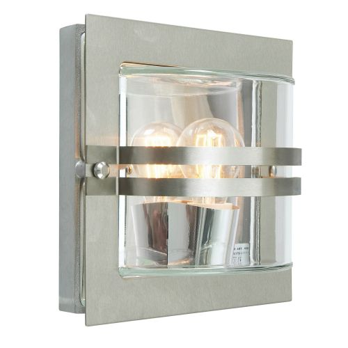 Norlys BERN E27 S/S C 1Lt Stainless Steel Outdoor Wall Light