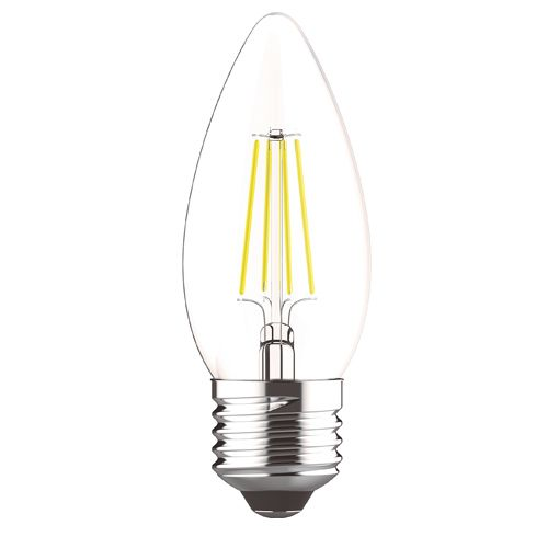 Candle E27 LED Lamp 4Watt Warm White 2700K Dimmable