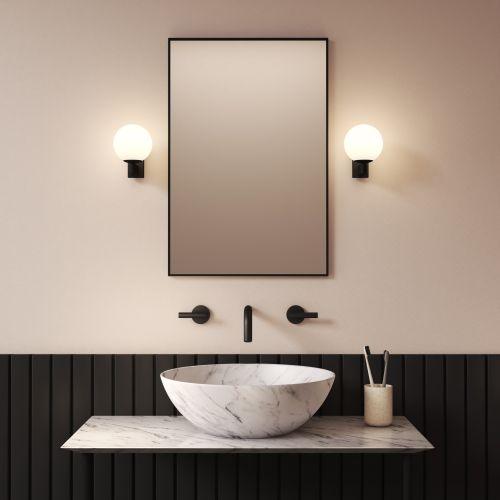 Astro Sagara Bathroom Wall Light in Matt Black 1168003