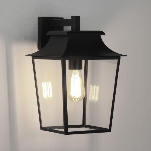 Astro Richmond Wall Lantern 254 Outdoor Wall Light in Textured Black 1340011