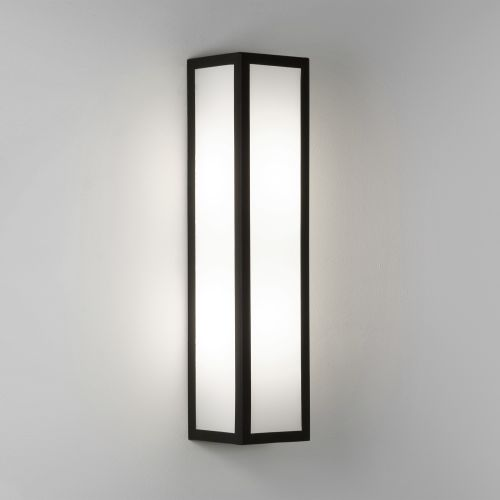 Astro Salerno LED Outdoor Wall Light in Textured Black 1178002