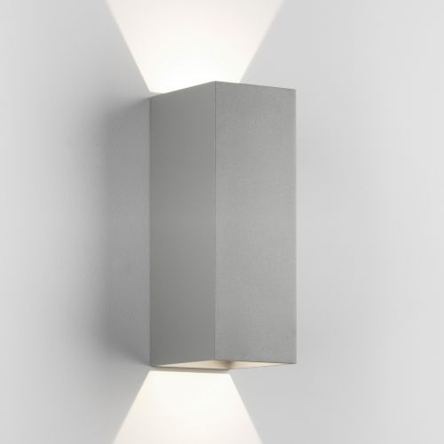 Astro Oslo 255 LED Outdoor Wall Light in Textured Grey 1298023