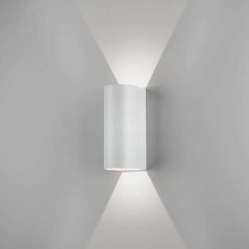 Astro Dunbar 255 LED Outdoor Wall Light in Textured White 1384007