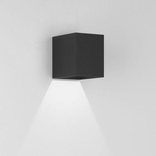 Astro Kinzo 110 LED Indoor Wall Light in Textured Black 1398001