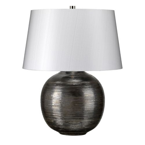 Elstead Caesar Silver Table Lamp ELS/CAESAR/TL SIL
