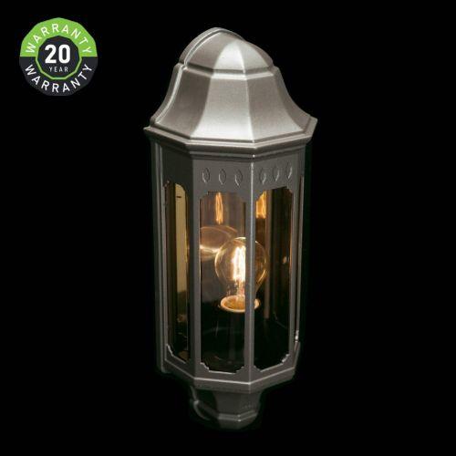 Noral Capri Outdoor Wall Light Lantern Graphite NOR/7353103 20 Year Warranty