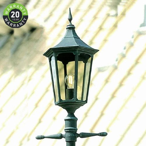 Noral Cardinal Outdoor Lamp Post Black NOR/7102102-POST E1 20 Year Warranty