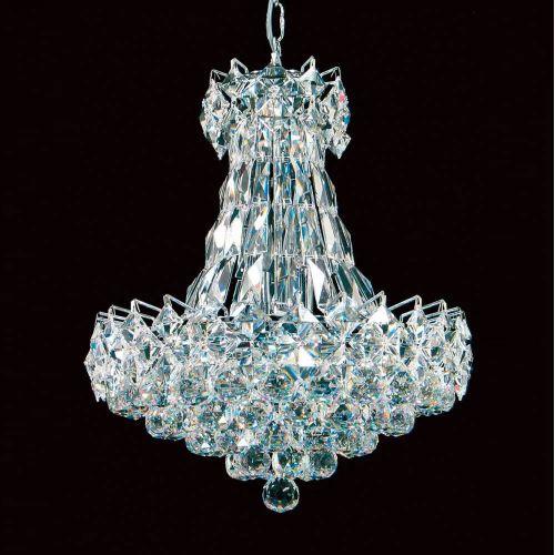 Impex CE02014/16/CH Le Harve Shower Lead Crystal Ceiling Pendant