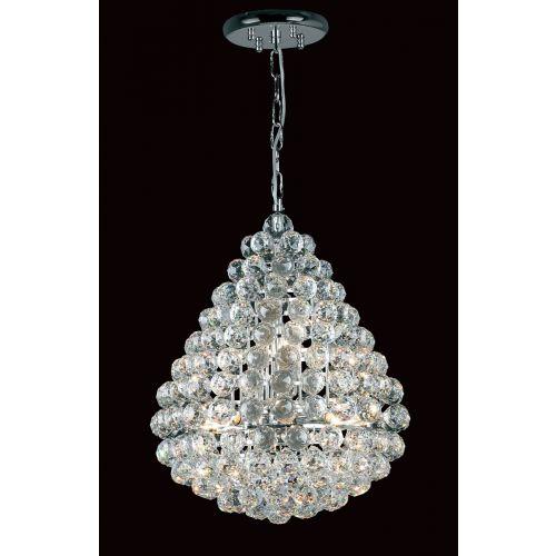 Impex CE05340/08/CH Marseille 8 Light Crystal Chandelier Chrome