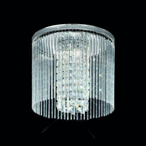 Large Flush Ceiling Fitting 3 Light Allure LEK60056