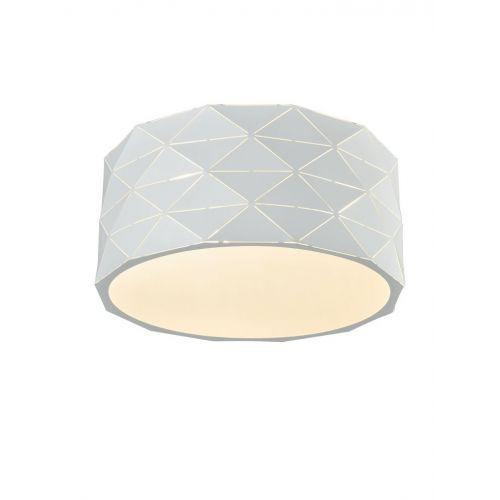 Flush Ceiling Fitting 4 Light White Osculate LEK60081