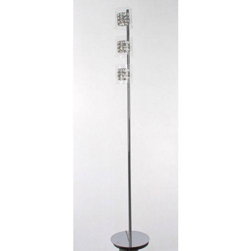 Impex CFH211171/03/FL/CH Sonja 3Lt Chrome Floor Lamp