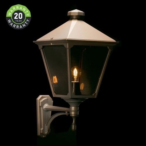 Noral Classic Outdoor Wall Light Lantern Black NOR/7553102 20 Year Warranty