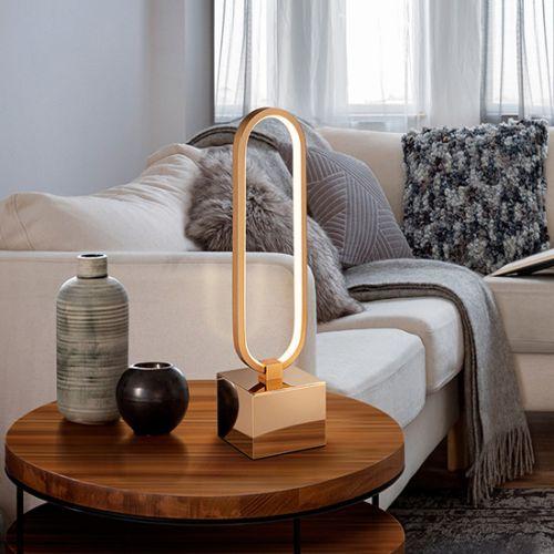 Schuller Colette 787253 LED Table Lamp Golden Frame