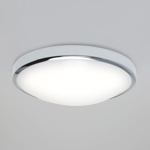 Astro Osaka 350 LED Bathroom Ceiling Light in Polished Chrome 1061006