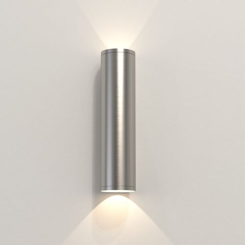 Astro Ava 300 Coastal Wall Light in Brushed Stainless Steel 1428004