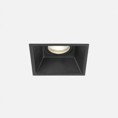 Astro Minima Square Fixed Indoor Downlight in Matt Black 1249019