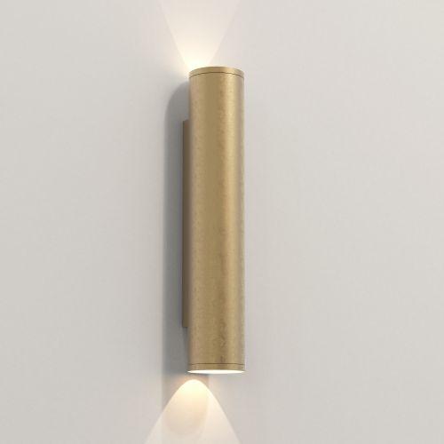Astro Ava 400 Coastal Wall Light Coastal Brass 1428015