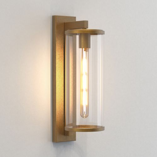 Astro Pimlico 500 Outdoor Wall Light in Antique Brass 1413006