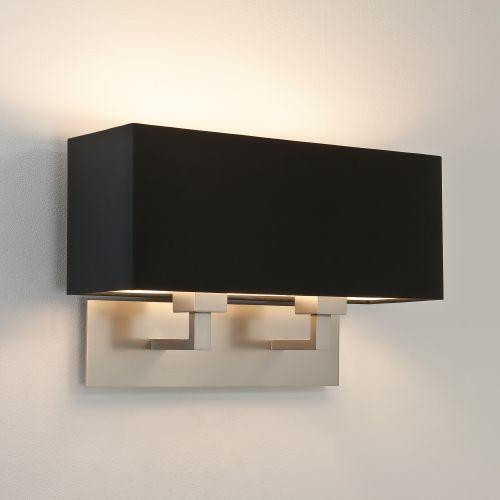 Astro Park Lane Twin Indoor Wall Light in Matt Nickel 1080020