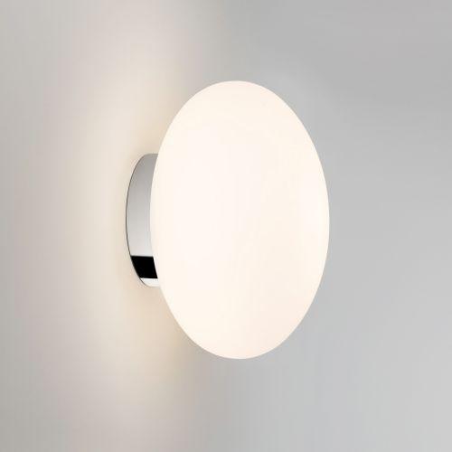 Astro Zeppo Wall Bathroom Wall Light in White Glass 1176004
