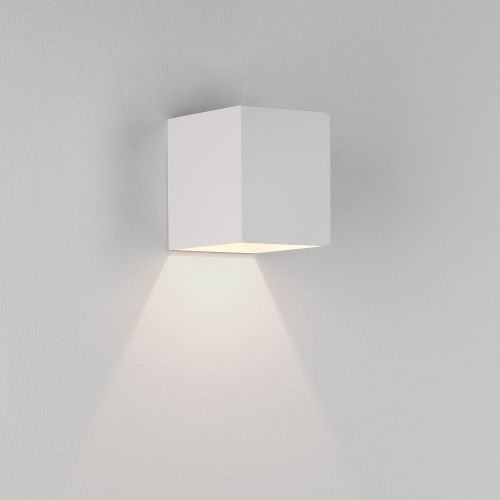 Astro Kinzo 110 LED Indoor Wall Light in Textured White 1398002