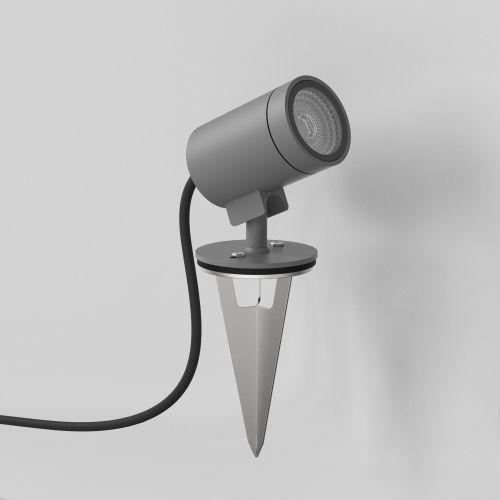 Astro Bayville Spike Spot 12V Outdoor Spotlight in Textured Grey 1401010