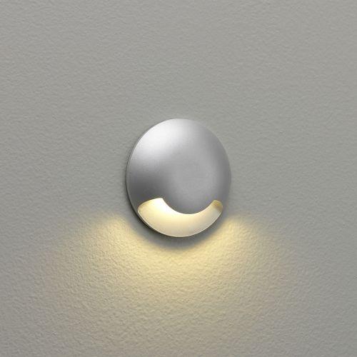 Astro Beam One LED Outdoor Marker Light in Matt Silver 1202001
