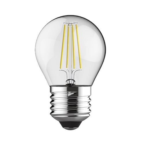 Golf Ball E27 LED Lamp 4Watt Warm White 2700K Non-Dimmable