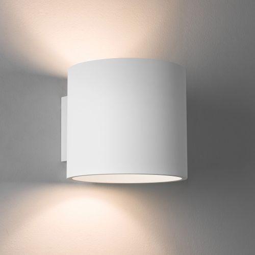 Astro Brenta 175 Indoor Wall Light in Plaster 1195003
