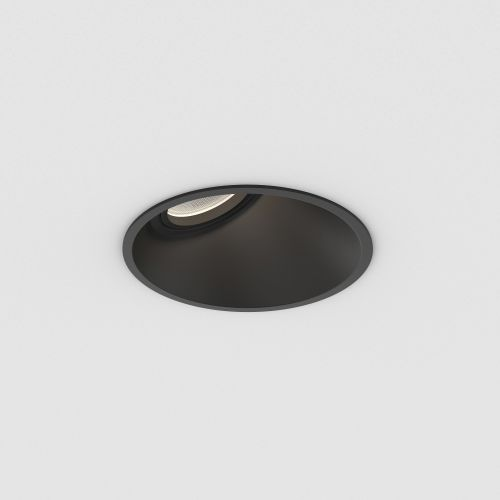Astro Minima 25 Indoor Downlight in Matt Black 1249026