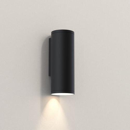 Astro Ava 200 Outdoor Wall Light in Textured Black 1428005