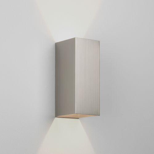 Astro Kinzo 260 LED Indoor Wall Light in Matt Nickel 1398015