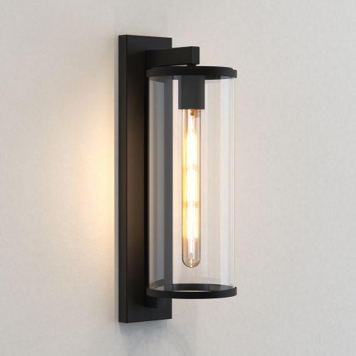 Astro Pimlico 500 Outdoor Wall Light in Textured Black 1413004