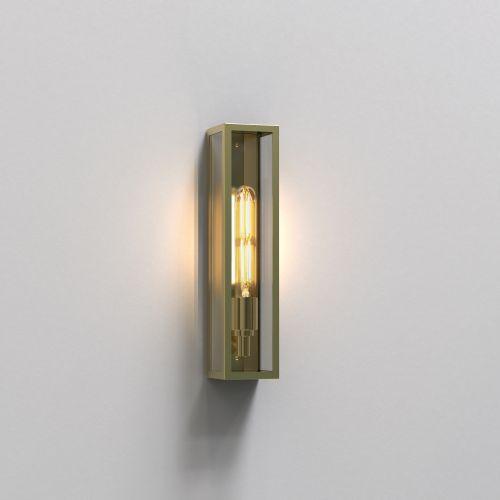 Astro Harvard Wall Outdoor Wall Light in Natural Brass 1402007