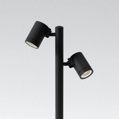 Astro Bayville Spike Spot 900 Twin Outdoor Spotlight in Textured Black 1401013