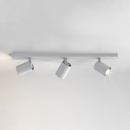 Astro Ascoli Triple Bar Indoor Spotlight in Textured White 1286003