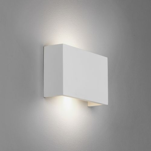 Astro Rio 210 LED Indoor Wall Light in Plaster 1325008