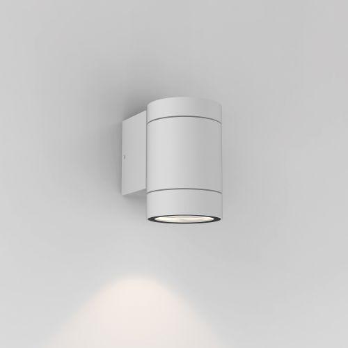Astro Dartmouth Single GU10 Outdoor Wall Light in Textured White 1372009