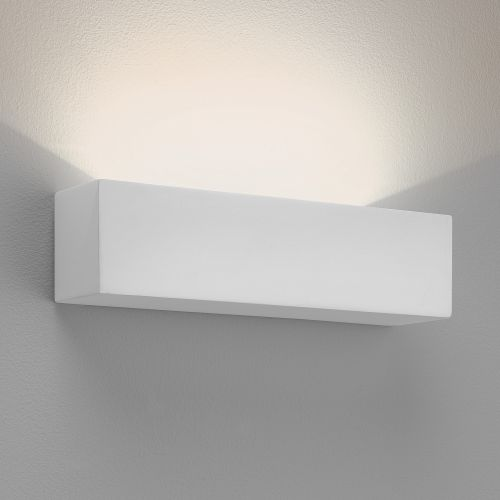 Astro Parma 250 LED 2700K Indoor Wall Light in Plaster 1187015