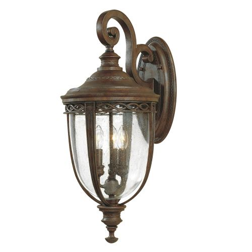Feiss English Bridle Large Wall Lantern In Bronze ELS/ FE/EB2/L BRB