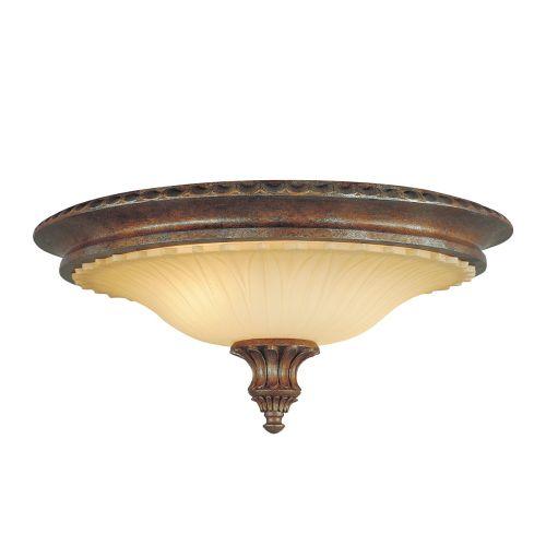 Feiss Stirling Castle Flush Fitting Bronze 2 Light FE/STIRLINGCAS/F
