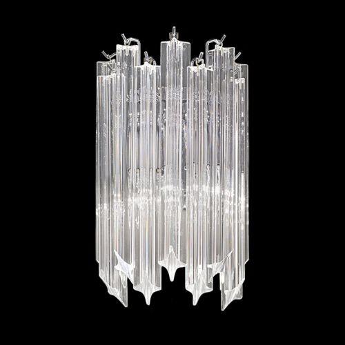 Chrome Wall Light With Crystals Ravenna LEK61495