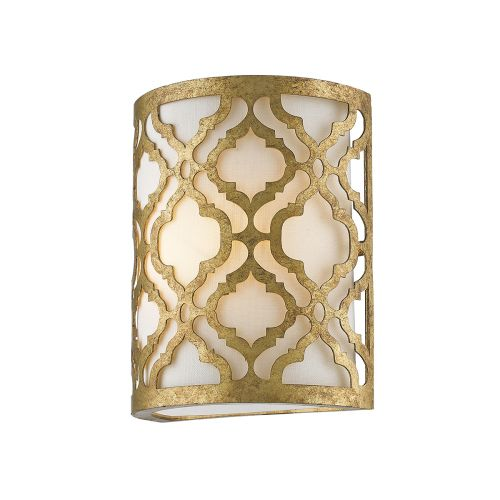 Gilded Nola Arabella 1Lt Wall Light Distressed Gold GN/ARABELLA1