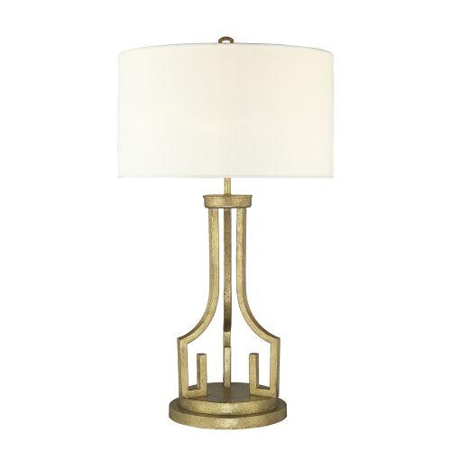Gilded Nola Lemuria Table Lamp Distressed Gold GN/LEMURIA TL