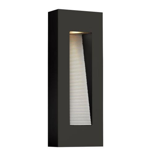 Hinkley Luna LED Outdoor Wall Light Satin Black ELS/HK/LUNA/M SK