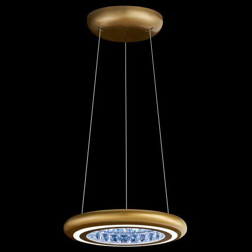 Schonbek Infinite Aura LED Swarovski Crystal Glimmer Gold Frame MFC101E-GD1S